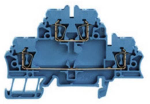 Dubbele/meervoudige serieklemmen ZDK ZDK 2.5 BL 1678630000 Blauw Weidmüller 1 stuks