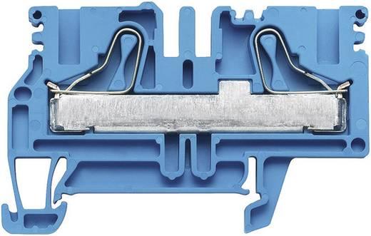 Weidmüller PDU 6/10 BL Doorgangsaansluitblokken PDU blauw Atol-blauw 1 stuks