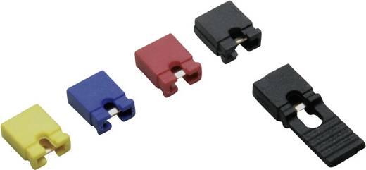 BKL Electronic 10120906 Kortsluitingsbrug Rastermaat: 2.54 mm Inhoud: 1 set