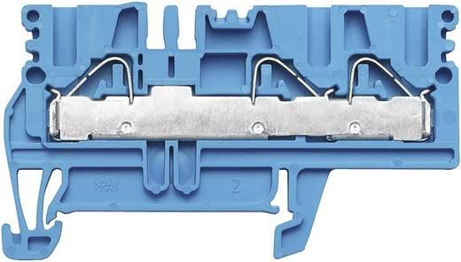 Weidmüller PDU 2.5/4/3AN BL Doorgangsaansluitblokken PDU blauw Atol-blauw 1 stuks