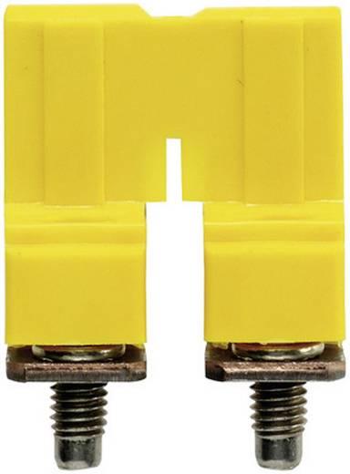 Dwarsverbinder WQV 10/2 1052560000 Geel Weidmüller 1 stuks