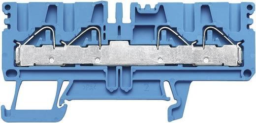 Weidmüller PDU 2.5/4/4AN BL Doorgangsaansluitblokken PDU blauw Atol-blauw 1 stuks