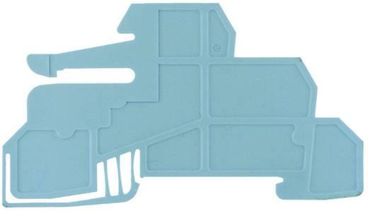 Borgplaten voor de 10 x 3 mm verzamelrail WHP WDL2.5/S BL 1067980000 Blauw Weidmüller 1 stuks