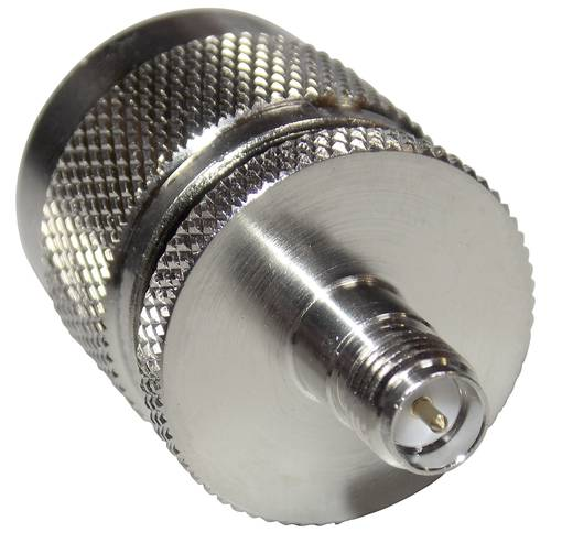 BKL Electronic 0419109 SMA-reverse-bus - N-adapter N-stekker 1 stuks