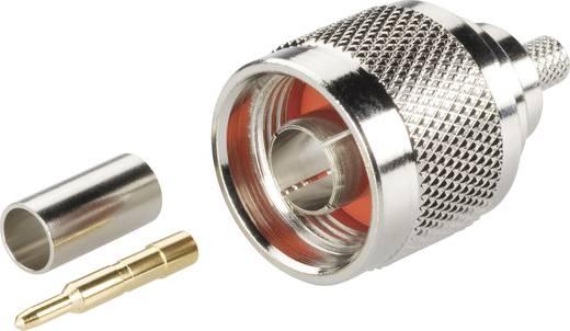 BKL Electronic 0404000 N-connector Stekker, recht 50 Ω 1 stuks