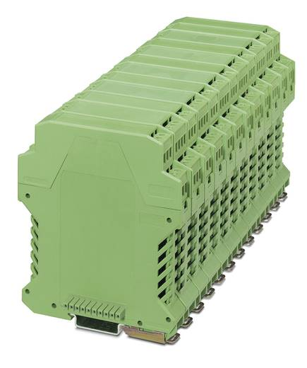 Phoenix Contact ME 35 UT BUS/10 GN DIN-rail-behuizing onderkant 99 x 35 ABS Groen 1 stuks