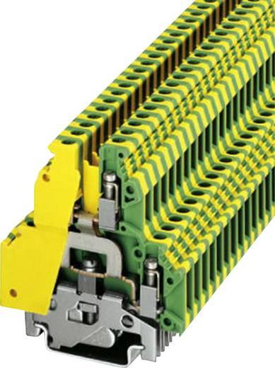 Phoenix Contact UKK 5-PE 2-laagse installatieklem Groen-geel Inhoud: 1 stuks