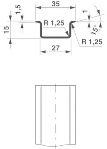 DIN-draagrails NS 35/15 UNPERF 2000MM Phoenix Contact Inhoud: 2 m