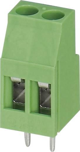 Klemschroefblok 2.50 mm² Aantal polen 2 MKDS 3/ 2 Phoenix Contact Groen 1 stuks