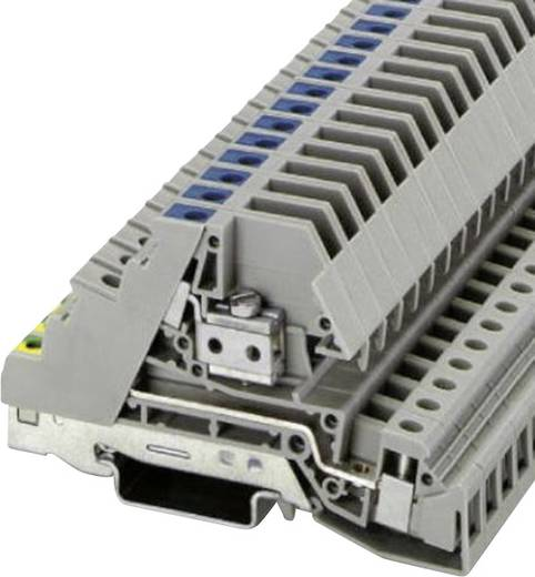 Phoenix Contact PIK 6-PE/L/NT 3-laags installatieklem Grijs Inhoud: 1 stuks