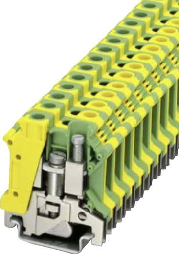 Phoenix Contact USLKG 10 N PE-randaardeklem Groen-geel Inhoud: 1 stuks