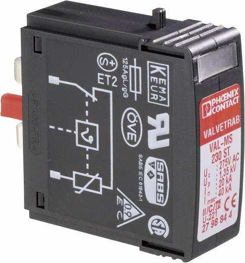 Phoenix Contact VAL-MS 230 ST 2798844 Insteekbare overspanningsafleider Overspanningsbeveiliging voor: Verdeelkast 20 k