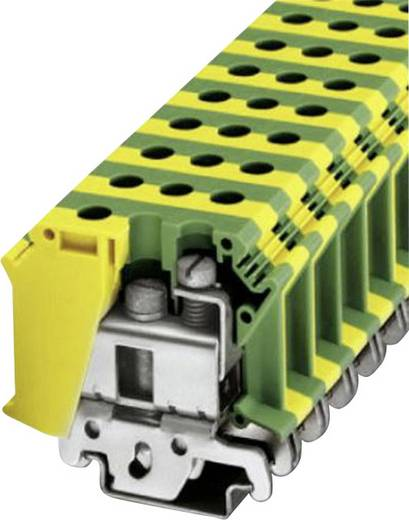 Phoenix Contact UISLKG 35 PE-randaardeklem Groen-geel Inhoud: 1 stuks