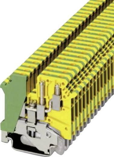 Phoenix Contact UK 5-TWIN-PE TWIN-klem Groen-geel Inhoud: 1 stuks