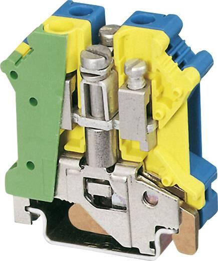 Phoenix Contact UK 6 N-PE/N PE/N-voedingsblok Groen-geel, Blauw Inhoud: 1 stuks