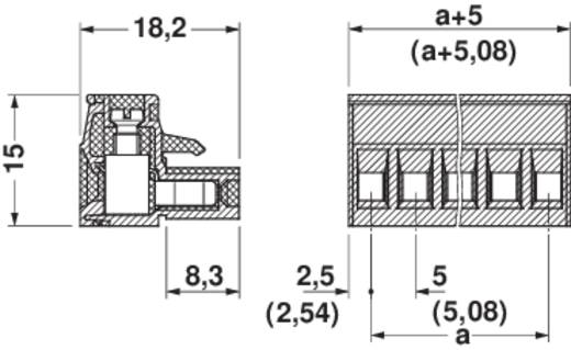 Busbehuizing-kabel MSTB Totaal aantal polen 2 Phoenix Contact 1757019 Rastermaat: 5.08 mm 1 stuks