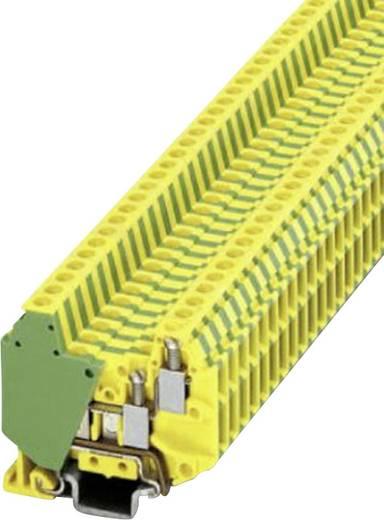 Phoenix Contact MT 1,5-QUATTRO-PE Mini-dubbeldeksklem Groen-geel Inhoud: 1 stuks