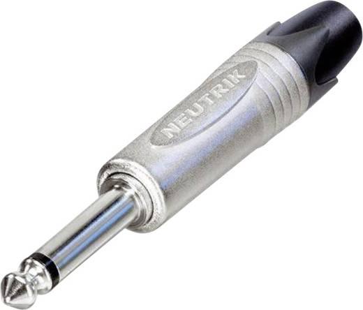 Neutrik NP2X Jackplug 6.35 mm Stekker, recht Aantal polen: 2 Mono Zilver 1 stuks