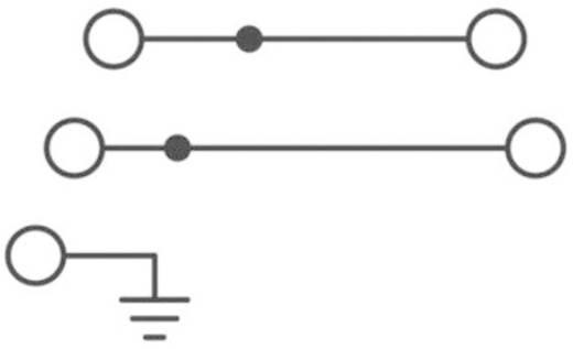 Phoenix Contact STI 2,5-PE/L/N Drielaags installatieklem Grijs Inhoud: 1 stuks