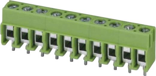 Klemschroefblok 2.50 mm² Aantal polen 11 PT 1,5/11-5,0-H Phoenix Contact Groen 1 stuks