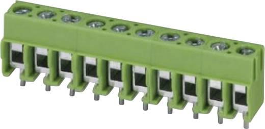 Klemschroefblok 2.50 mm² Aantal polen 12 PT 1,5/12-5,0-H Phoenix Contact Groen 1 stuks