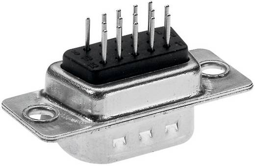 Provertha HDT1552G3 D-SUB male connector 180 ° Aantal polen: 15 Solderen 1 stuks
