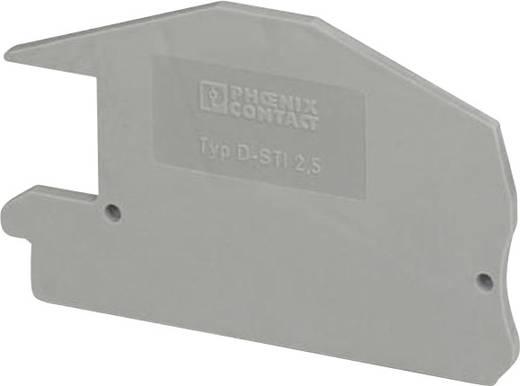 Phoenix Contact D-STI 2,5 Deksel Geschikt voor: STI 2,5, STN 2,5 1 stuks