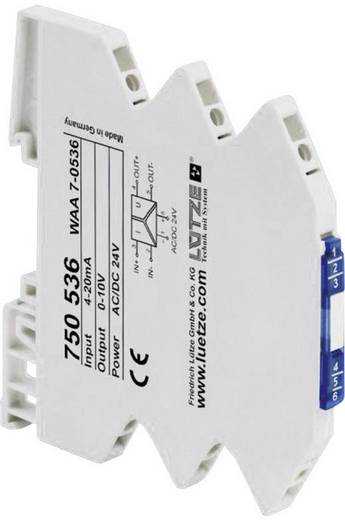 Lütze WAA 7-0537 750537 3-weg converter voor normsignalen 1 stuks