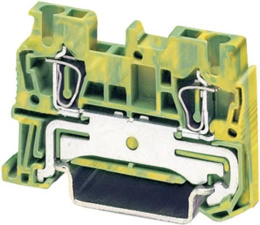 Phoenix Contact ST 2,5-PE Trekveer-randaardeklem Groen-geel Inhoud: 1 stuks