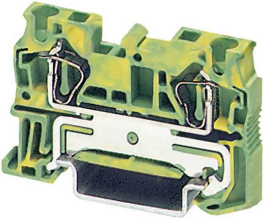 Phoenix Contact ST 4-PE Trekveer-randaardeklem Groen-geel Inhoud: 1 stuks