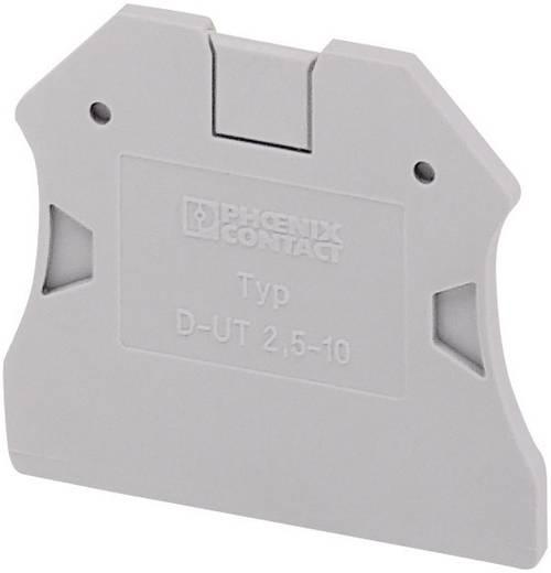 Phoenix Contact D-UTN 2,5/10 Accessoires installatieklemmen UTN Geschikt voor: UTN-serie 1 stuks