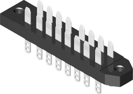 MPE Garry 383-1-012-ABN-ZS Male connector Totaal aantal polen 12 Aantal rijen 2 20 stuks
