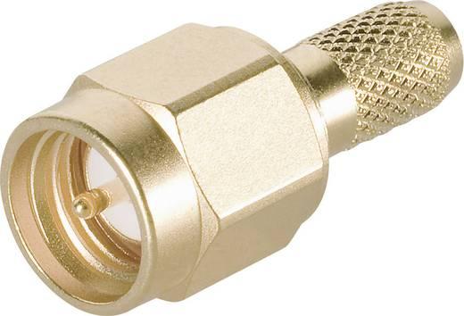 Telegärtner J01150A0011 SMA-connector Stekker, recht 50 Ω 1 stuks