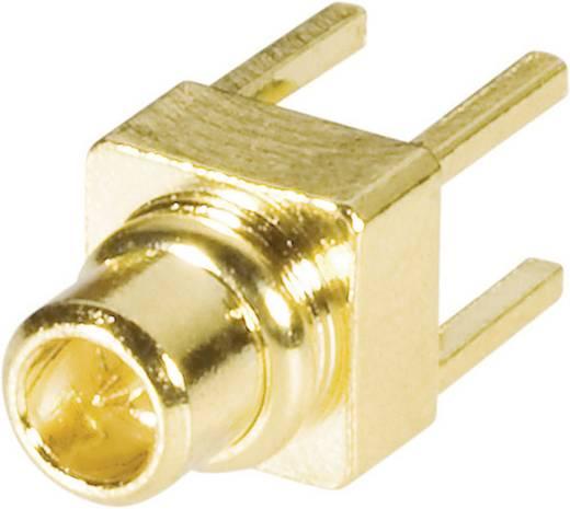 BKL Electronic 0416704 MMCX-connector Stekker, inbouw verticaal 50 Ω 1 stuks