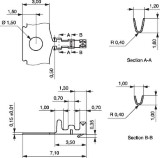 MPE Garry 606-1-TX-XR Buscontact CC Rastermaat: 1.25 mm 15000 stuks