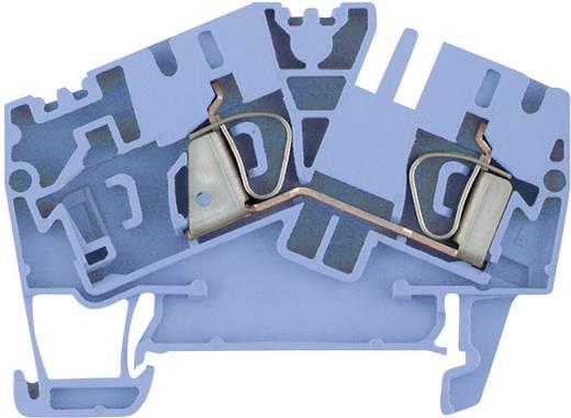 Weidmüller ZDU 4-2/2AN BL Doorgangsserieklemmen ZDU...-2 blauw Atol-blauw 1 stuks