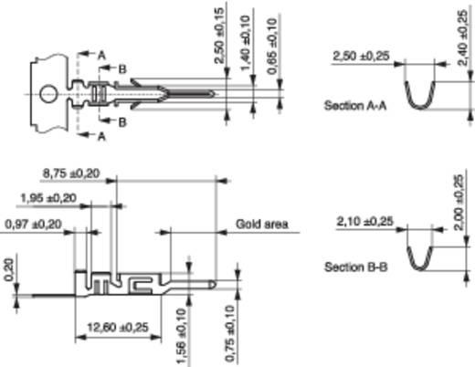 MPE Garry 605-1-TX-XR Pencontact BLC Rastermaat: 3 mm 10000 stuks