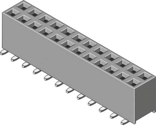 Female connector (standaard) Aantal rijen: 2 Aantal polen per rij: 5 MPE Garry 098-6-010-0-NFX-YT0 92 stuks