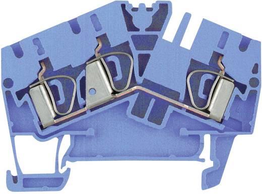 Weidmüller ZDU 4-2/3AN BL Doorgangsserieklemmen ZDU...-2 blauw Atol-blauw 1 stuks