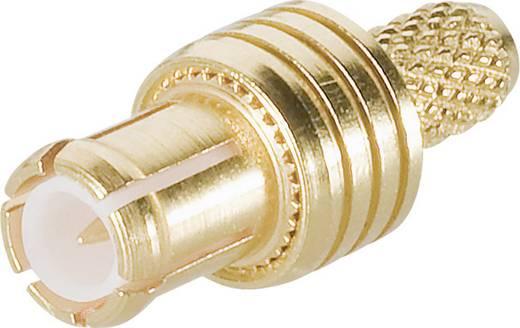 Telegärtner J01270A0161 MCX-connector Stekker, recht 50 Ω 1 stuks
