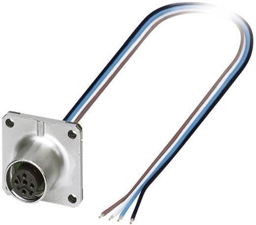 Phoenix Contact SACC-SQ-M12FS-4CON-25F/0,5 M12 sensor-/actor inbouwstekker Aantal polen: 4 Inhoud: 1 stuks