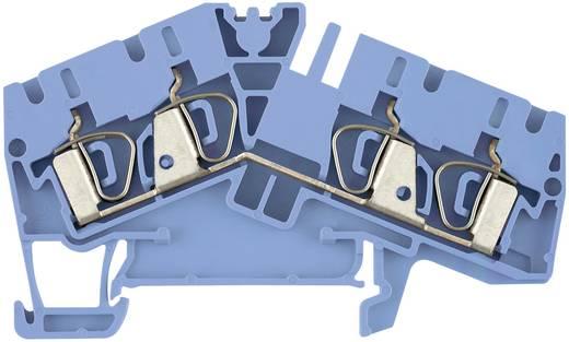 Weidmüller ZDU 4-2/4AN BL Doorgangsserieklemmen ZDU...-2 blauw Atol-blauw 1 stuks