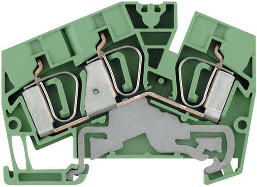 Weidmüller ZPE 6-2/3AN Randaardekabel-serieklem ZPE...-2 Groen-geel 1 stuks