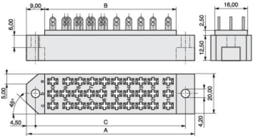 MPE Garry 384-2-030-HBN-ZS Veerlijst Totaal aantal polen 30 Aantal rijen 3 10 stuks