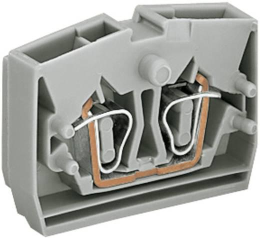 Aderklem 6 mm Veerklem Toewijzing: L Grijs WAGO 264-321 1 stuks