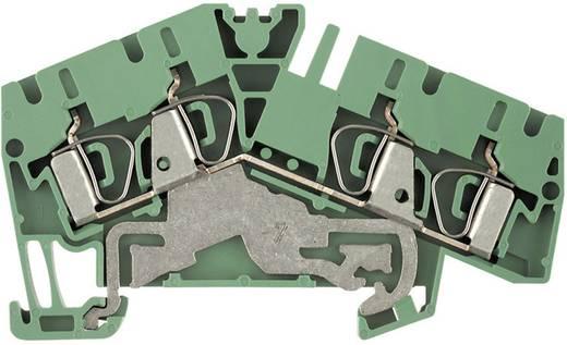 Randaardekabel-serieklem ZPE...-2 ZPE 4-2/4AN 1807090000 Groen-geel Weidmüller 1 stuks