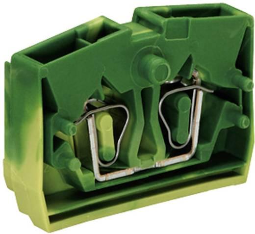 Aderklem 6 mm Veerklem Toewijzing: Terre Groen-geel WAGO 264-327 1 stuks