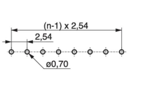 Female connector (precisie) Aantal rijen: 1 Aantal polen per rij: 20 MPE Garry 115-1-020-0-MTF-XS0 150 stuks