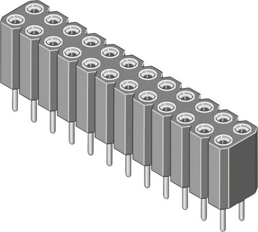 Female connector (precisie) Aantal rijen: 2 Aantal polen per rij: 18 MPE Garry 115-3-036-0-MTF-XS0 100 stuks