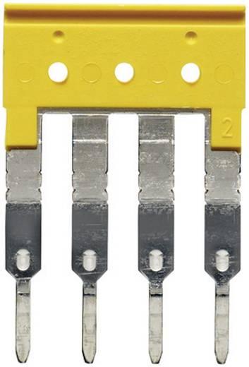 Dwarsverbinder ZQV 2.5/4 1608880000 Geel Weidmüller 1 stuks